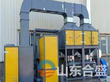 工业废气催化燃烧设备
