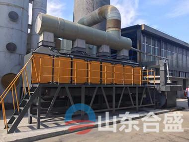 VOC催化燃烧设备废气处理设备